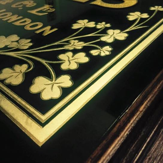 Gold Leaf Gilding Artwork