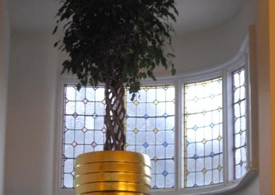 Gilded Planter in Sheesh Restaurant