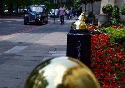 External Gilding for Grosvenor House London