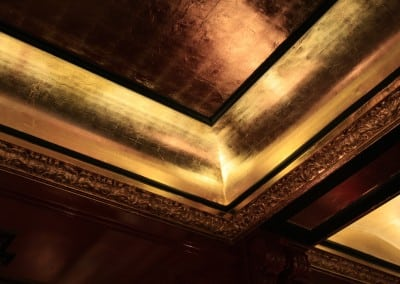 Gilded Ceiling at The Goring Gotel