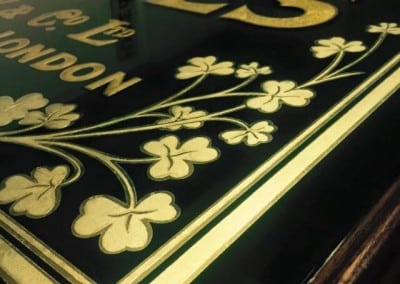 Gold Leaf Gilded Mirror Writing
