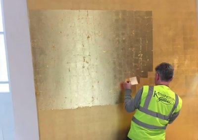 Gold Leaf Gilding for the British Museum in London 14