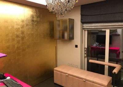 Gold Leaf Gilding in Westminster London 12