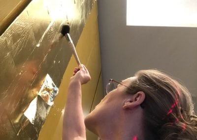 Gold Leaf Gilding in Westminster London