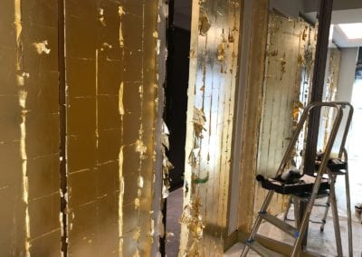 Gold Leaf Gilding in Westminster London 5